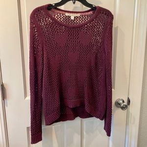 LC heart sweater